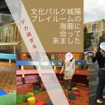 近鉄寺田駅徒歩5分。1歳児と「文化パルク城陽プレイルーム」に君臨する海龍に会ってきました
